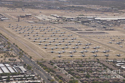 Abandoned Air Plane Photograph - Davis-monthan Air Force Base Airplane by Terry Moore