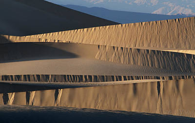 Plexiglas Photograph - Death Valley Dunes 6301 by Bob Neiman