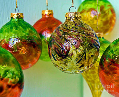 Deck The Halls Print by Debbi Granruth