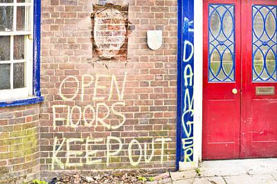Building Feature Photograph - Demolition Site by Tom Gowanlock