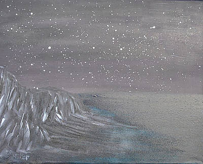 Painting - Depth Of The Night by Suzanne Surber