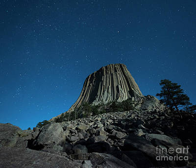 Devil's Tower Print by Juli Scalzi