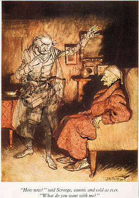 Charles Dickens Painting - Dickens: A Christmas Carol by Granger