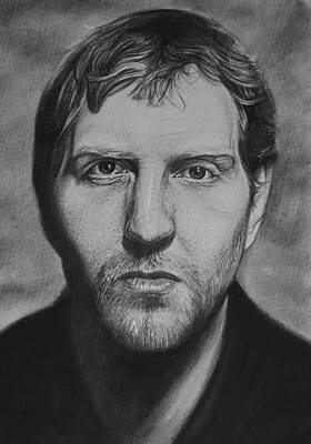 Dirk Drawing - Dirk by Steve Hunter
