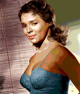 Harlem Mixed Media - Dorothy Jean Dandridge by Charles Shoup