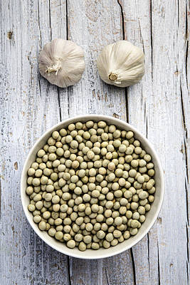 Dried Peas Print by Nailia Schwarz