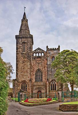 Church Photograph - Dunfermline Abbey by Marcia Colelli