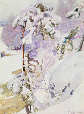 Early Spring Painting - Early Spring by Pekka Halonen