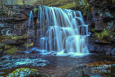 Yorkshire Photograph - East Gill Force by Stephen Smith