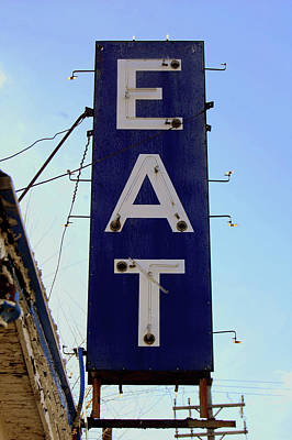Eat  Print by Jame Hayes