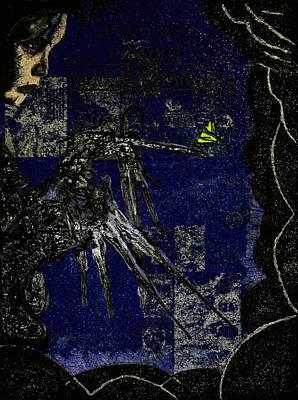 Edward Scissorhands Painting - Ed by Federico Biancotti