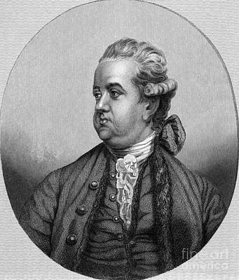 Abolition Photograph - Edward Gibbon, English Historian by Middle Temple Library