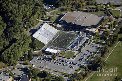 Wcu Photograph - E.j. Whitmire Stadium And Ramsey Center At Wcu by David Oppenheimer