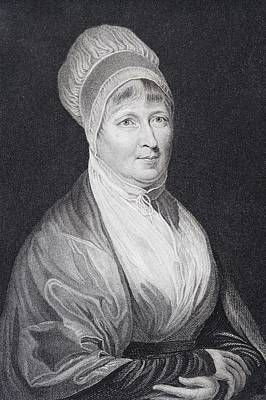 Fries Drawing - Elizabeth Fry 1780 To 1845 English by Vintage Design Pics