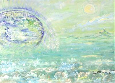 Painting - Emerging  by Mary Sedici