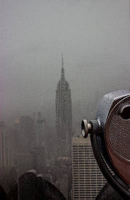 Empire State Building Print by Martin Newman
