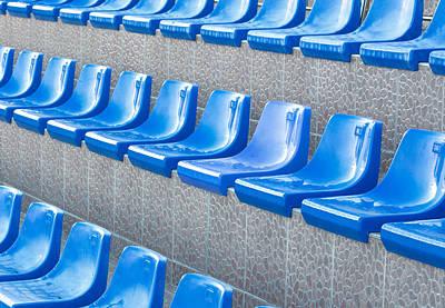 Empty Seats Print by Boyan Dimitrov