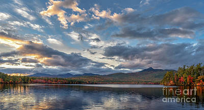 Evening At The Lake Print by Scott Thorp