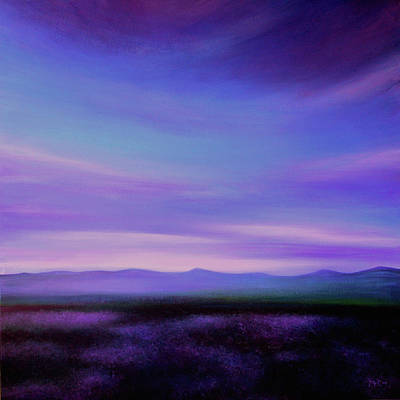 South Of France Painting - Evening Colours by K McCoy