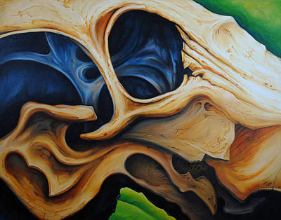 Eye Socket Print by Chris Steinken