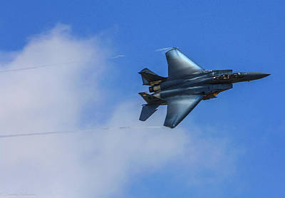 Photograph - F-15 Going Supersonic by Tommy Anderson