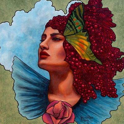 Oracle Painting - Faith In Faith by Helena Rose