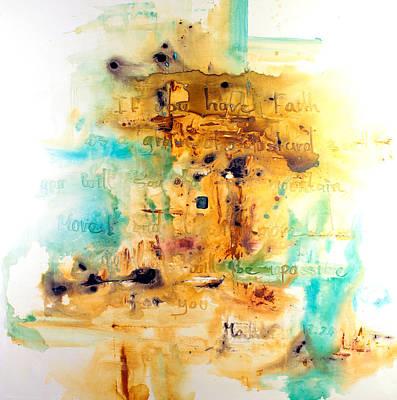 Faith Like A Mustard Seed Print by Ivan Guaderrama