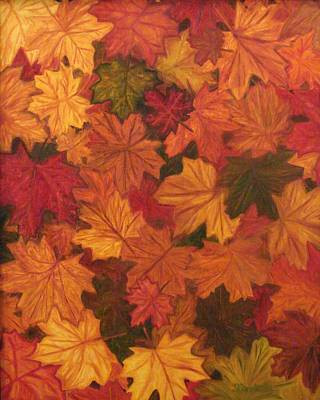Fall Has Fallen Print by Shiana Canatella