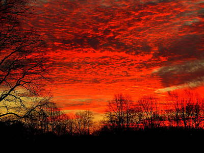 Fire In The Sky Original by Aron Chervin