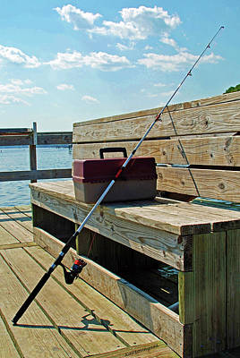 Photograph - Fishin' Pole by Kay Lovingood