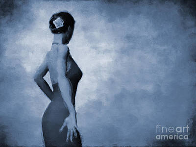 Isolated Digital Art - Flamenco In C by John Edwards