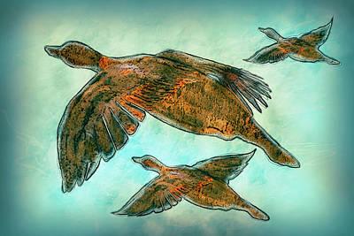 Flight Print by Jack Zulli