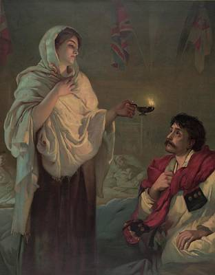 Florence Nightingale 1820-1910 Print by Everett