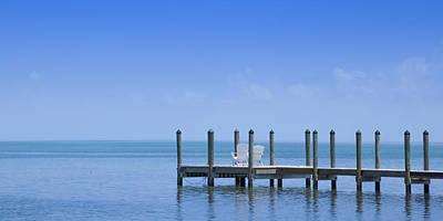 Northamerica Photograph - Florida Keys Quiet Place Panoramic View by Melanie Viola
