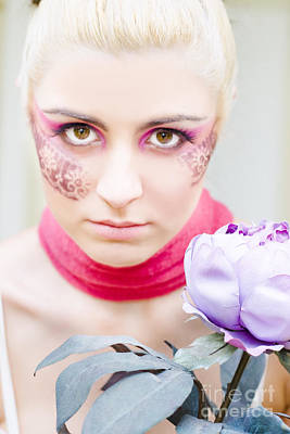 Flower Girl Print by Jorgo Photography - Wall Art Gallery