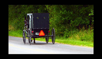 Amish Community Photograph - Follow Me by Tina M Wenger