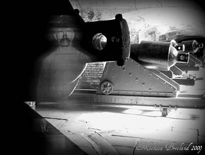 Haunted Digital Art - Fort Sumter 2 by Melissa Wyatt