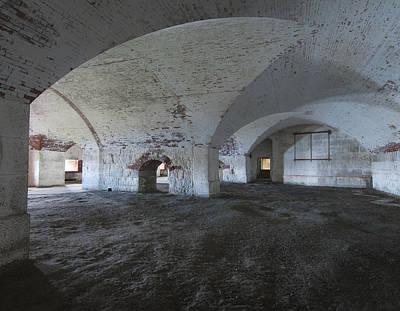 Plexiglas Photograph - Fort Warren 7124 by Bob Neiman