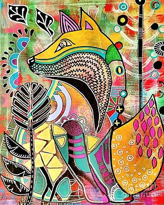 Painting - Fox by Amy Sorrell