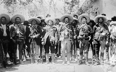 Uniforms Photograph - Francisco Pancho Villa by Granger