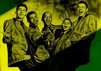 Rhythm And Blues Mixed Media - Frankie Lymon Collection by Marvin Blaine