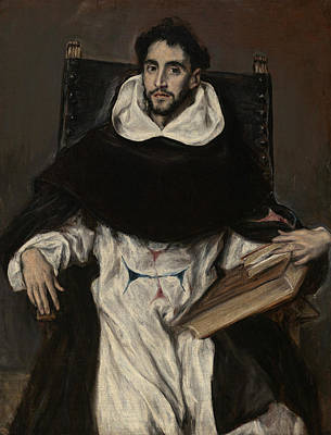 Mannerism Painting - Fray Hortensio Felix Paravicino  by El Greco