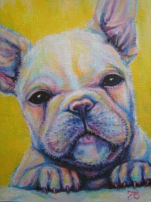 French Bulldog Print by Jack No War