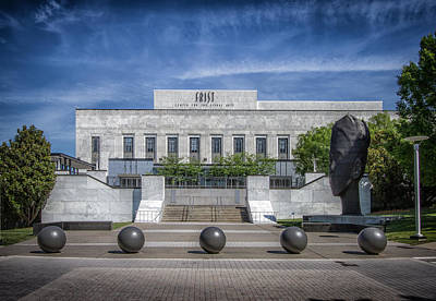 Frist Museum Photograph - Frist Center For The Arts by Mike Burgquist