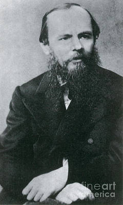 Realism Photograph - Fyodor Dostoyevsky, Russian Author by Photo Researchers