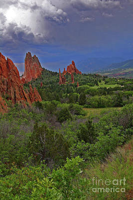 Photograph - Garden Of The Gods by Rich Walter