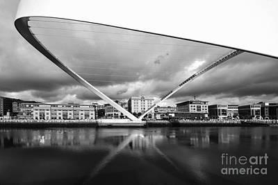 Quayside Photograph - Gateshead Millennium Bridge by Stephen Smith
