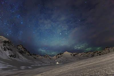Winter Scenes Photograph - Gateway by Ed Boudreau