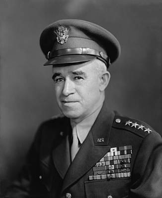Memorial Day Photograph - General Omar Bradley by War Is Hell Store