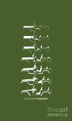 General Purpose Silhouettehistory Print by Balazs Iker